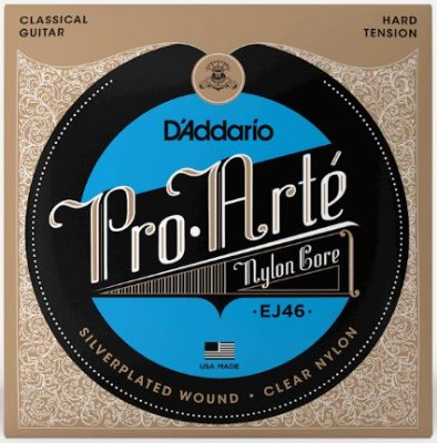 Encordoamento D'Addario Nylon Pro Arte Hard Tension - EJ46