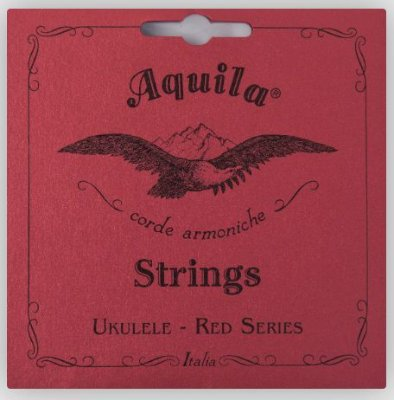 Encordoamento Ukulele Concert Aquila Red Series - High G