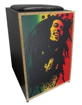 Cajon Jaguar K2 Colors Bob Marley
