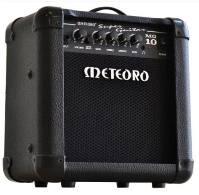 Amplificador Guitarra Meteoro MG-10 - 10W RMS auto falante 6''