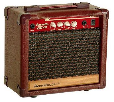 Amplificador Violão Meteoro Acoustic V10 - 10W RMS auto falante 6''