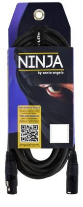 Cabo Santo Angelo Ninja XLR 10ft 3,05 mts - LW B 10 ft