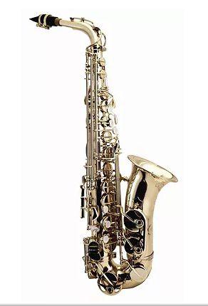 Saxofone Alto Eb - Mi bemol WERIL BRASIL - Antique A630 - Usado