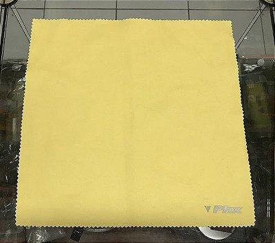 Flanela de Microfibra PHX Amarela - (30cm x 30cm)