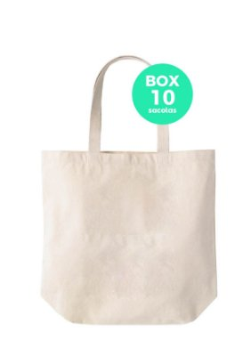 Box com 10 sacolas 35 x 30 x 13cm