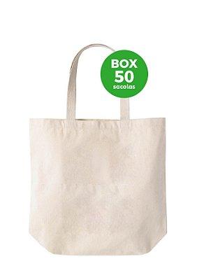 BOX com 50 sacolas 35 X 30 X 13CM
