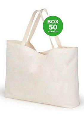 BOX com 50 sacolas 40x45x15cm