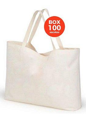 BOX com 100 sacolas 40x45x15cm