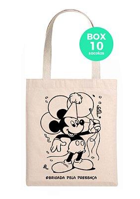 Sacola de aniversário (Mickey)