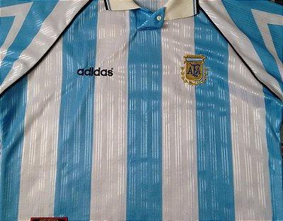 Camisa Argentina Anos 1990