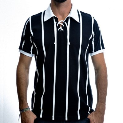 Camisa Retrô Alvinegro Paulista 1929