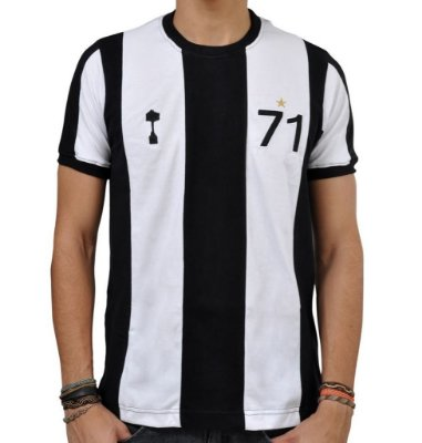 Camisa Retrô Alvinegro Mineiro 1971