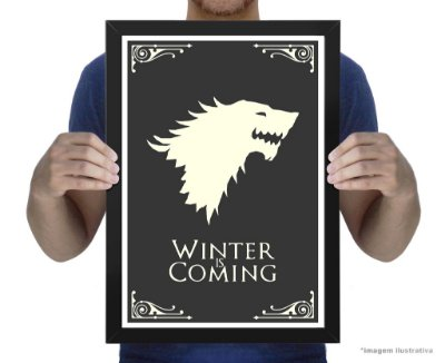 Poster Game of Thrones House Stark