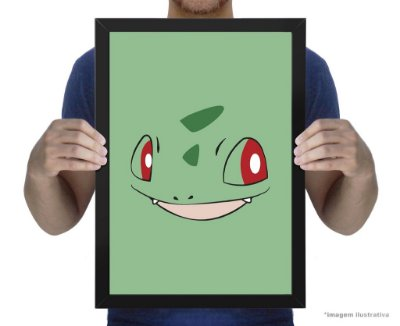 Poster Pokemon Bulbassauro
