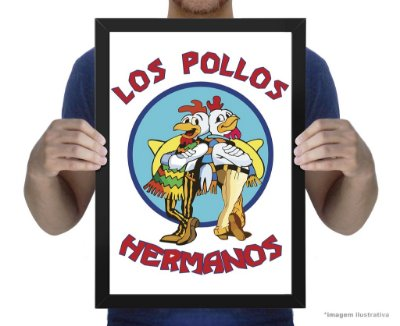 Poster Breaking Bad Los Pollos
