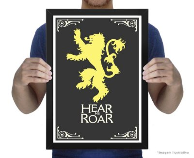 Poster Game of Thrones House Lannisters