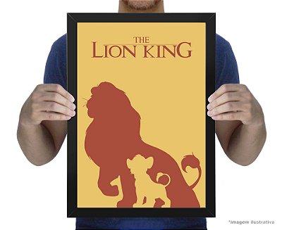 Poster Rei Leão
