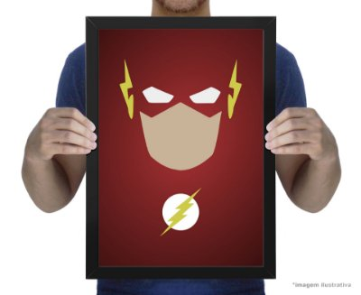 Poster Minimalista The Flash