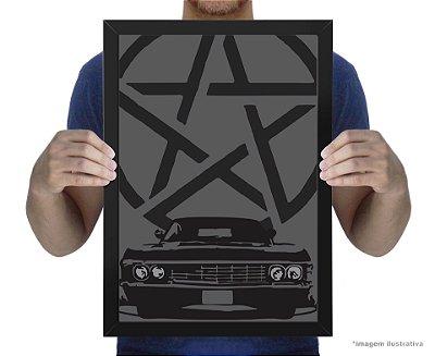 Poster Sobrenatural Impala