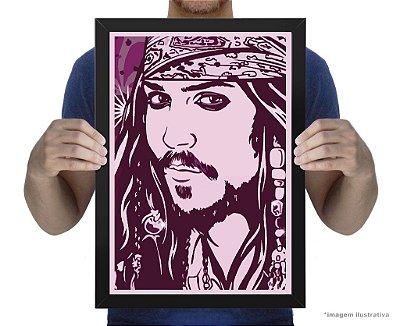 Poster Capitão Jack Sparrow