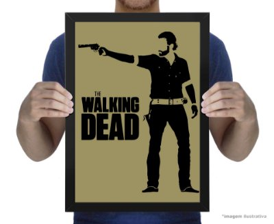 Poster The Walking Dead Rick
