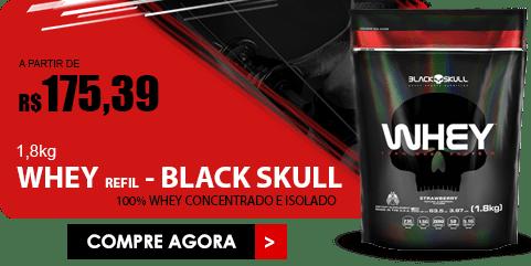 WHEY REFIL Black Skull