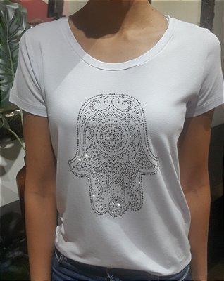 T-Shirt Mão de Fatima