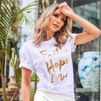 T-Shirt Faith, Hope, Love