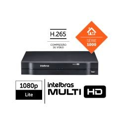 Dvr Intelbras Multi Hd 08 Ch Mhdx 1108 C/ Hd 1tb