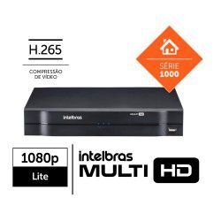 Dvr Intelbras Multi Hd 04 Ch Mhdx 1104 C/ Hd 1tb