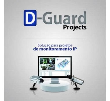 Licença D-Guard Projects Pack IP 4 Canais