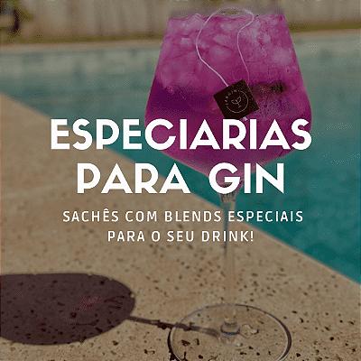 Especiarias para Gin - Sanches com blends especiais para seu drink