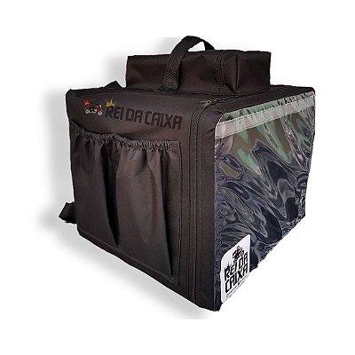 Mochila térmica 48 litros - Comporta embalagem até 40cm de diâmetro