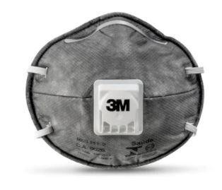 Respirador Descartável 3M™ 8023 Pff2 com Válvula Ca 9626 - Pcte 10 unid