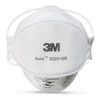 Respirador Descartável 3M™ Aura™ 9320+BR PFF2 Ca 30592