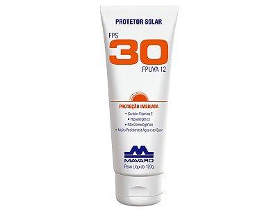 Protetor Solar Fps 30 Mavaro 120g