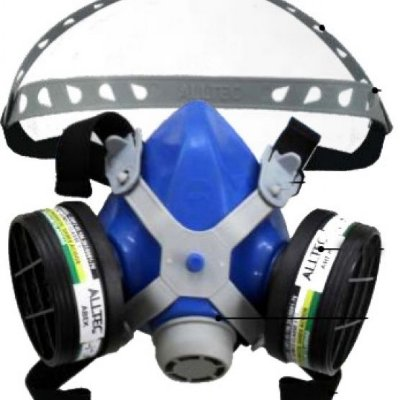 Respirador Semifacial Mastt 2402 Ca 10463