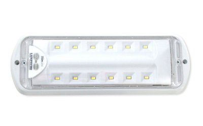 Luminária de emergência Slim Basic