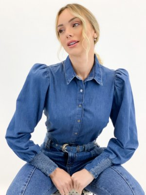CAMISA BUFANTE JEANS
