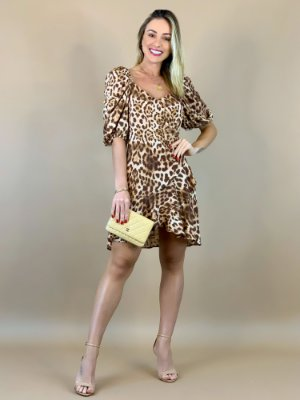 VESTIDO TRANSPASSE ANIMAL