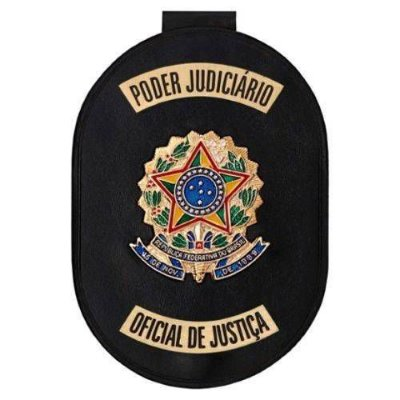 Distintivo Oficial de justiça