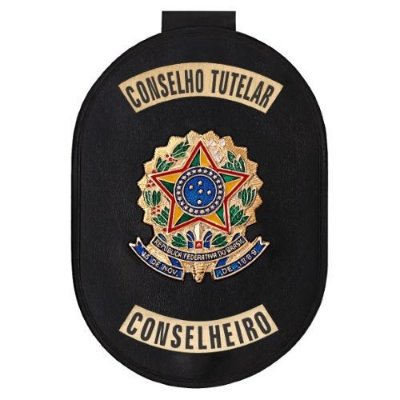 Distintivo Conselho Tutelar - Conselheiro