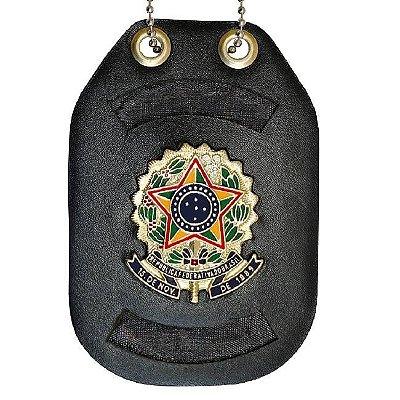 Distintivo personalizável com brasão da república corrente no Ilhós sem clipe de aço