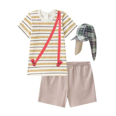 Pijama Curto Bebê Turma do Chaves - Chaves