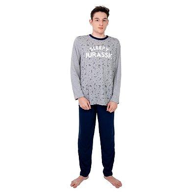 Pijama Longo Adulto Masculino Sleep By Jurassic