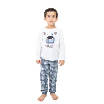 Pijama Longo Infantil Masculino Big Hugs