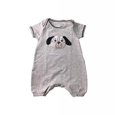 Body Curto Bebê Com Perninha Dog