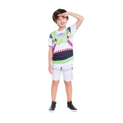 Pijama Curto Infantil Masculino Toy Story Buzz Lightyear
