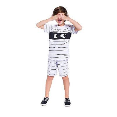 Pijama Curto Infantil Masculino Mumia