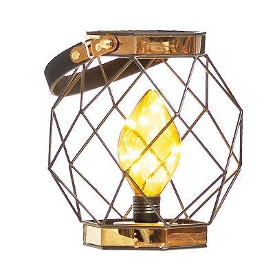 Lanterna Haxagonal C/Alca (Luminarias) C/1 Un